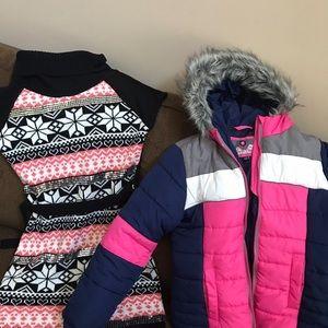 Other - Girls Winter Dress/ Coat